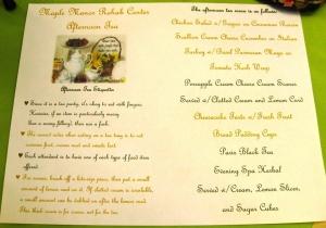 etiquette menu
