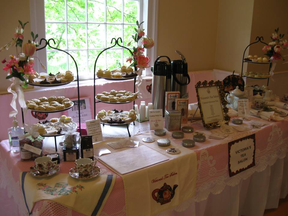 Victoria's Tea Salon occasionally does tastings at various locations. This was a bridal event held at Northville Historical Society & Mill Race Village which allowed the guest to try a couple teas and tea treats. The next tea tasting presentation will be held on February 5th at the Canton Public Library 1200 S Canton Center Rd, Canton, MI 48188 with limited seating. Contact them at: Phone: (734) 397-0999